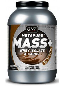 Metapure Mass+ Whey Isolate Carbs