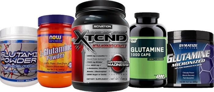 Как пить глютамин