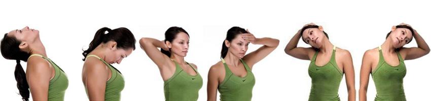 Упражнения - шея