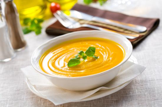 Суп из тыквы с имбирем для похудения